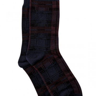 Fashion 4 Men - Prince Check Sock