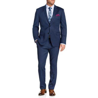 Fashion 4 Men - Tarocash Adrian 2 Button Suit Royal 48
