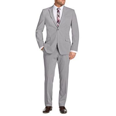 Fashion 4 Men - Tarocash Avery 1 Button Suit Cement 42