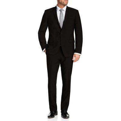 Fashion 4 Men - Tarocash Benson Stretch 1 Button Suit Black 36