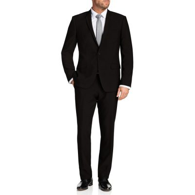 Fashion 4 Men - Tarocash Benson Stretch 1 Button Suit Black 44