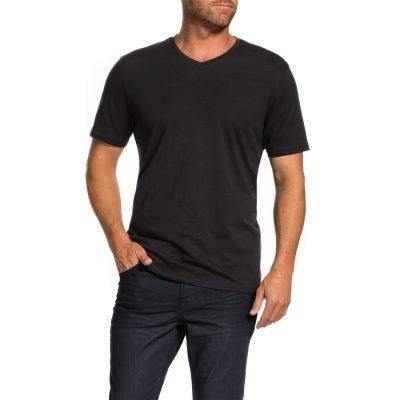 Fashion 4 Men - Tarocash Brando V Tee Black Xs