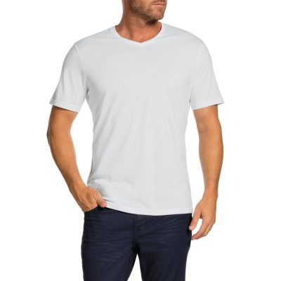 Fashion 4 Men - Tarocash Brando V Tee White L