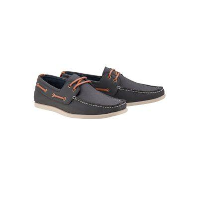 Fashion 4 Men - Tarocash Cain Boat Shoe Navy 10
