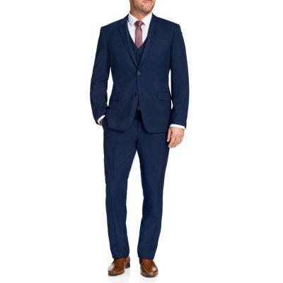 Fashion 4 Men - Tarocash Chaney 2 Button Suit Blue 36