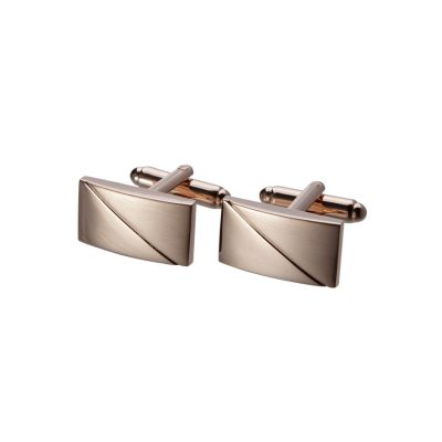 Fashion 4 Men - Tarocash Classic Cuff Link Rose Gold 1