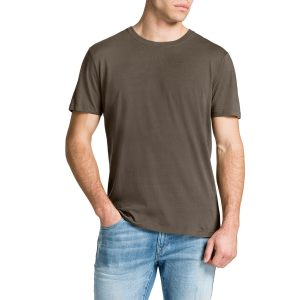 Fashion 4 Men - Tarocash Essential Crew Neck Tee Khaki Xl