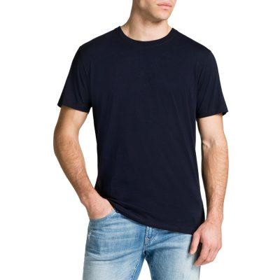 Fashion 4 Men - Tarocash Essential Crew Neck Tee Navy 5 Xl