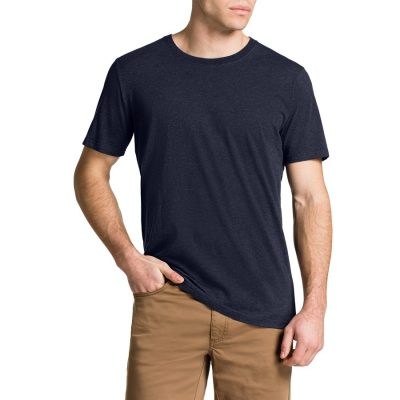 Fashion 4 Men - Tarocash Essential Crew Neck Tee Navy Marle 5 Xl