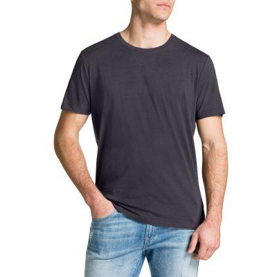 Fashion 4 Men - Tarocash Essential Crew Neck Tee Slate M