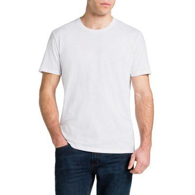 Fashion 4 Men - Tarocash Essential Crew Neck Tee White Xxl