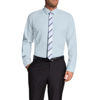 Fashion 4 Men - Tarocash Garth Dress Shirt Sky Xxxl