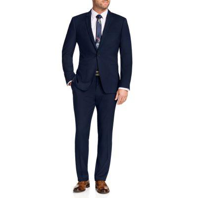 Fashion 4 Men - Tarocash Harvey Stretch 1 Button Suit Midnight 48