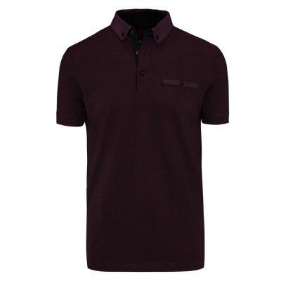 Fashion 4 Men - Tarocash Jayden Polo Burgundy L
