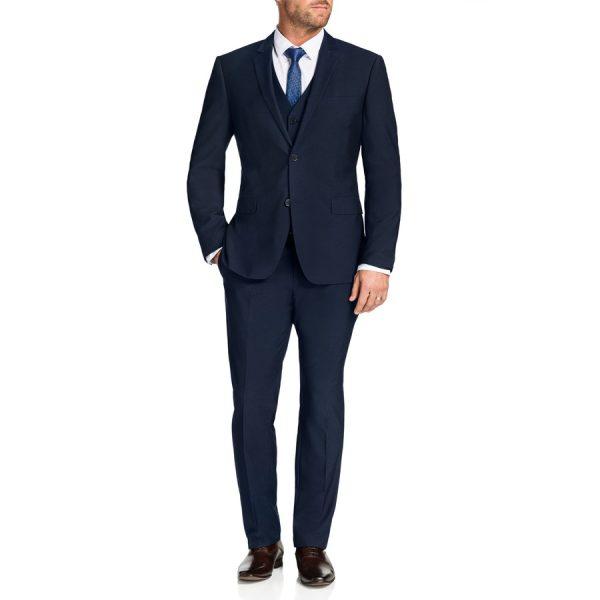 Fashion 4 Men - Tarocash Lehane 2 Button Suit Midnight 36
