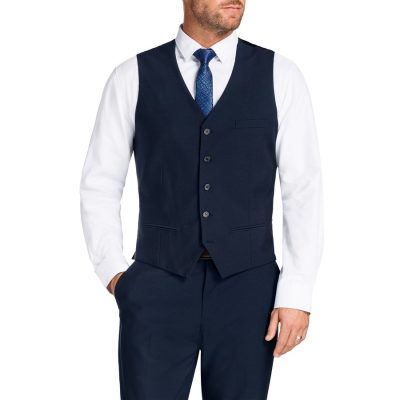 Fashion 4 Men - Tarocash Lehane Waistcoat Midnight 4 Xl
