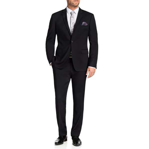 Fashion 4 Men - Tarocash Osgood Stretch 1 Button Suit Charcoal 40