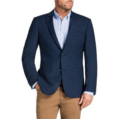 Fashion 4 Men - Tarocash Otto Linen Blend Jacket Royal 5 Xl
