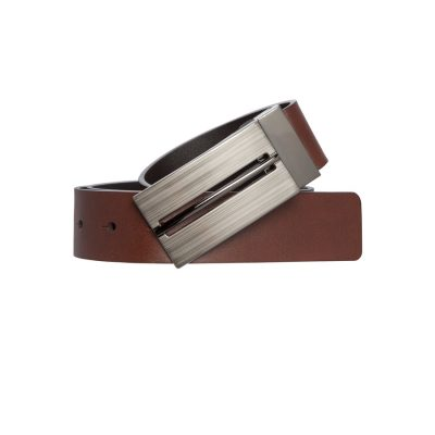Fashion 4 Men - Tarocash Radcliffe Reversible Belt Black Cognac 34