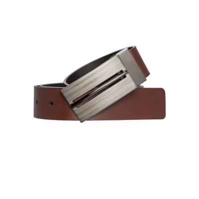 Fashion 4 Men - Tarocash Radcliffe Reversible Belt Black Cognac 44