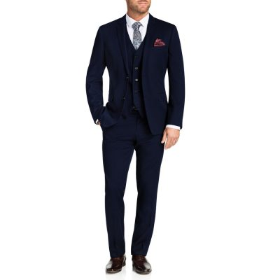 Fashion 4 Men - Tarocash Reddick 2 Button Suit Royal 40