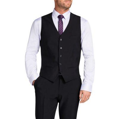 Fashion 4 Men - Tarocash Regan Waistcoat Charcoal L