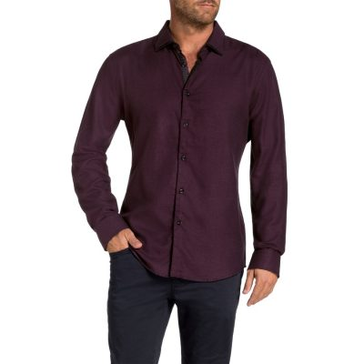 Fashion 4 Men - Tarocash Ridley Shirt Berry Xxxl