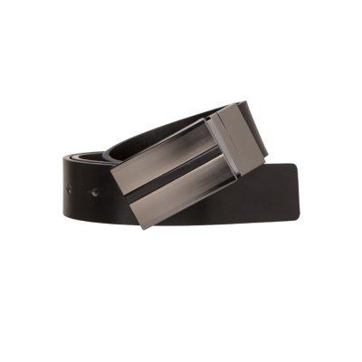 Fashion 4 Men - Tarocash Rooney Reversible Belt Black Black 32