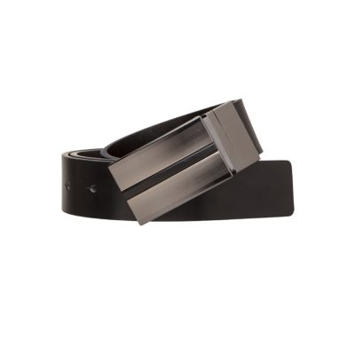 Fashion 4 Men - Tarocash Rooney Reversible Belt Black Black 44