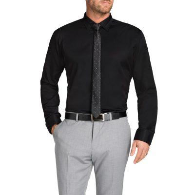 Fashion 4 Men - Tarocash Tobias Dress Shirt Black 4 Xl
