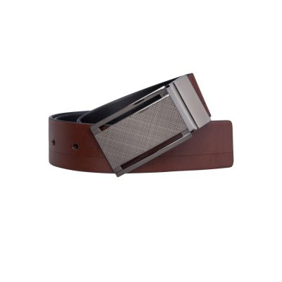 Fashion 4 Men - Tarocash Basil Reversible Belt Tan/Black 34