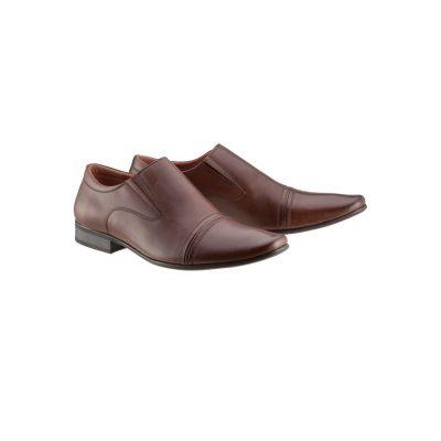 Fashion 4 Men - Tarocash Bourbon Slip On Shoe Brown 9