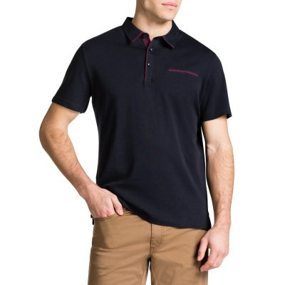 Fashion 4 Men - Tarocash Brighton Polo Navy 5 Xl