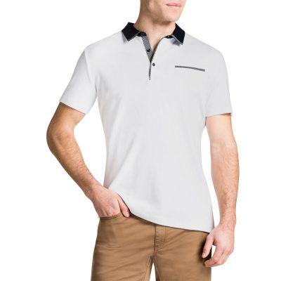 Fashion 4 Men - Tarocash Brighton Polo White S
