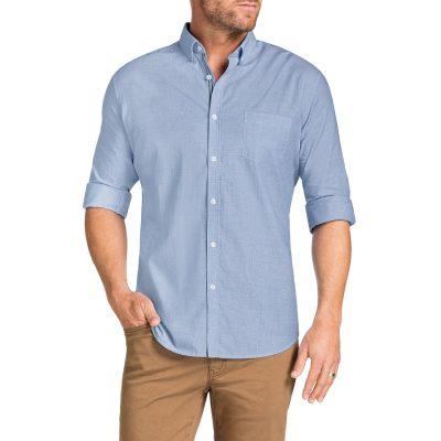 Fashion 4 Men - Tarocash Cool Cotton Shirt Blue L
