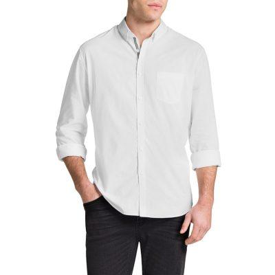 Fashion 4 Men - Tarocash Cool Cotton Shirt White M
