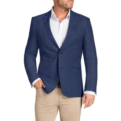 Fashion 4 Men - Tarocash Cutler Linen Jacket Foam Xxxl