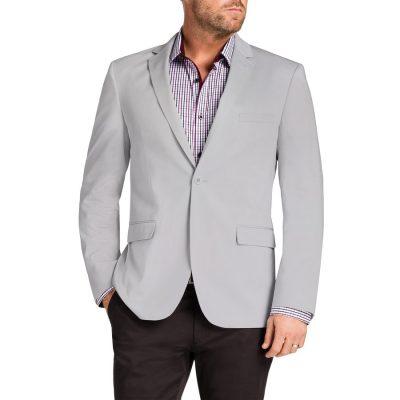 Fashion 4 Men - Tarocash Garrett Stretch Jacket Cement S