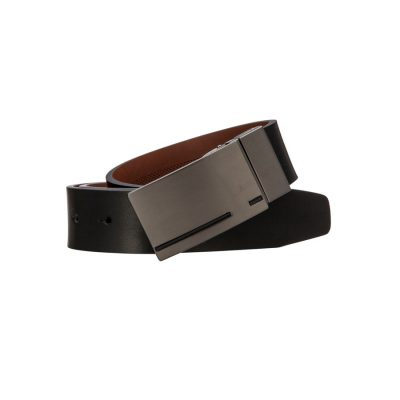 Fashion 4 Men - Tarocash Gordon Reversible Belt Black/Tan 44