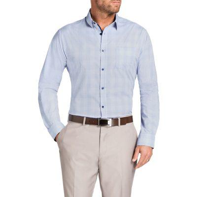 Fashion 4 Men - Tarocash Harrison Check Shirt Blue M
