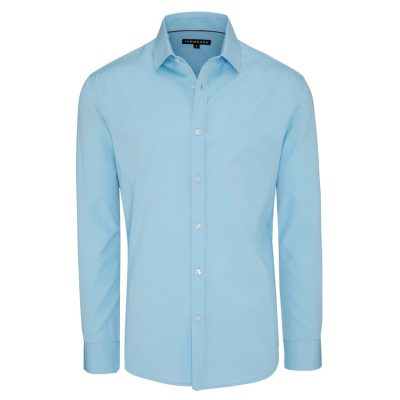 Fashion 4 Men - Tarocash Jake Dress Shirt Aqua Xs
