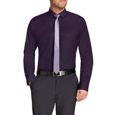 Fashion 4 Men - Tarocash Jake Dress Shirt Berry 4 Xl