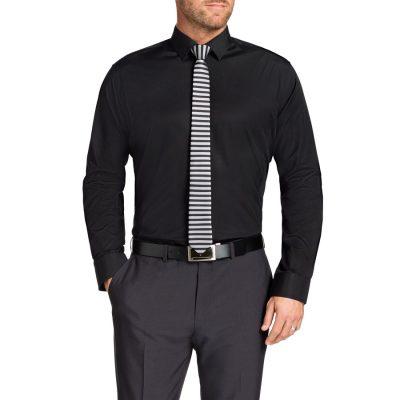 Fashion 4 Men - Tarocash Jake Dress Shirt Black M