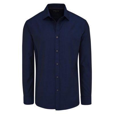 Fashion 4 Men - Tarocash Jake Dress Shirt Navy Xxl
