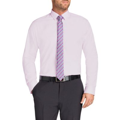 Fashion 4 Men - Tarocash Jake Dress Shirt Pink L