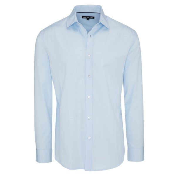Fashion 4 Men - Tarocash Jake Dress Shirt Sky Xl