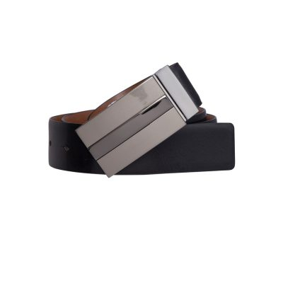 Fashion 4 Men - Tarocash Jonah Reversible Belt Black/Cognac 40