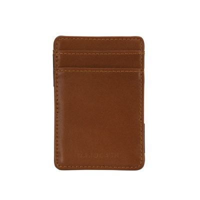 Fashion 4 Men - Tarocash Magic Wallet Tan 1