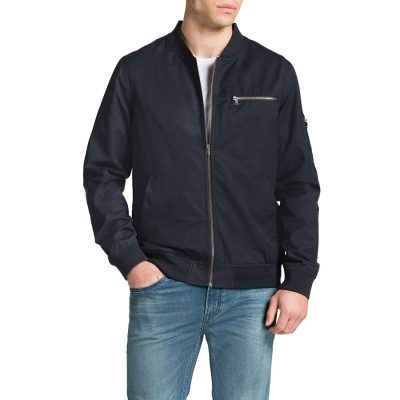 Fashion 4 Men - Tarocash Maverick Bomber Jacket Navy 5 Xl