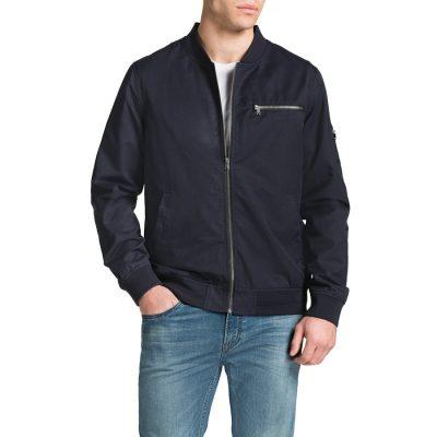 Fashion 4 Men - Tarocash Maverick Bomber Jacket Navy L